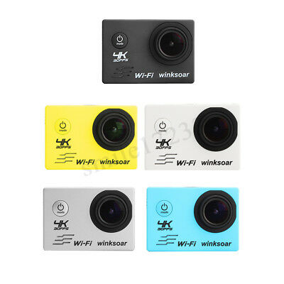 SJ9000 4K Ultra HD 1080P Wifi Waterproof Sports Action Camera Camcorder DV w/