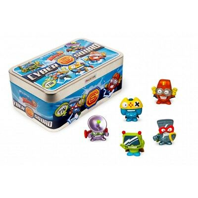 SUPERZINGS TIN BOX.  ( Lata metalica con 5 Superzings especiales )