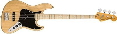 NEW Fender American Original 70s Jazz Bass  Maple Fingerboard  Natural