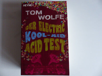 TOM WOLFE der electric kool-aid acid test HEYNE TB 2009 TOPzustand