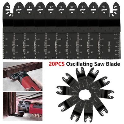 10 PCS Universal 34mm oscillating Multi tool saw blades Carbon Steel Cutter DIY