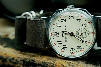 Watch Pobeda, Watch IWC Schaffhausen, Mechanical watch, USSR watch, vintage