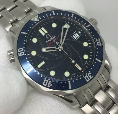 Gents Rare OMEGA Seamaster Blue CoAxial Limited Edition 007 James Bond [2226.80]