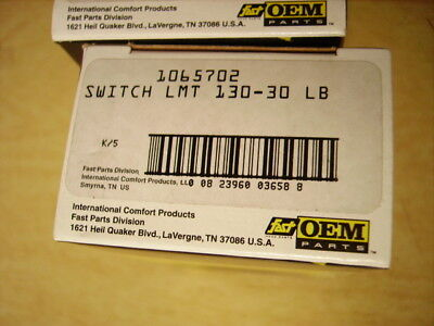 NEW - Heil Quaker 100-130F Auto Limit Switch OEM 1065702 - FREE SHIPPING