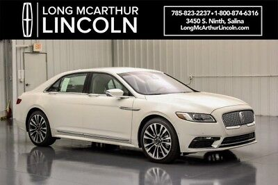 2018 Lincoln Continental RESERVE AWD 2.7 V6  ALL WHEEL DRIVE $15K OFF MSRP$64290 CONTINENTAL TECHNOLOGY PACKAGE CONTINENTAL CLIMATE PACKAGE