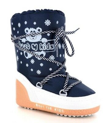 Doposci Boot BAMBINO New System Boot art 108 col BLU Made in Italy