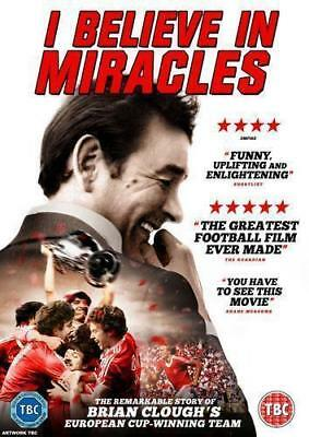 I Believe In Miracles The Brian Clough Story Universal Uk 2015 Region 2  Dvd New