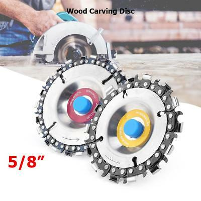 Woodworking Chain Grinder Angle Milling Chain Saws Disc Wood Carving Disc Tool