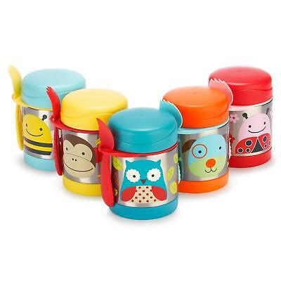 Skip Hop Kids Zoo Insulated Food Jar Bee / Butterfly / Unicorn / Ladybug / Giraf