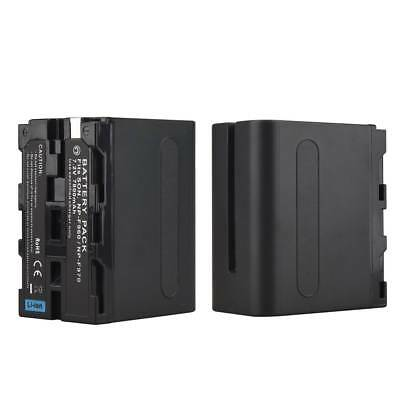 7.2V 7800mah NP-F960 Rechargeable Li-ion Battery For Sony NP-F960 F970 Camera