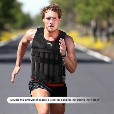 Durable Load Weighted Vest Adjustable Weight Training Exercise Running Waistcoat