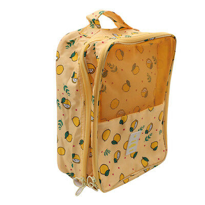 Portable Travel Shoes Storage Bag Outdoor Tote Pouch Zip Bag Organizer LH