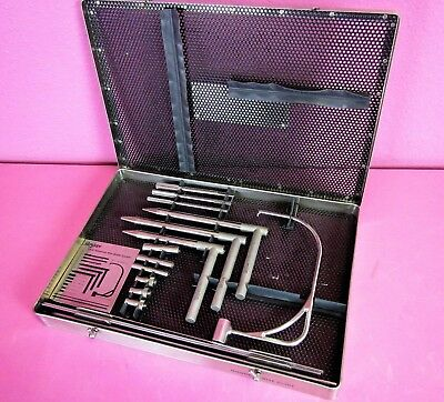 Stryker 170-47 Nisonson Orthopedic Wire Drill Guide System Surgical Set & Case