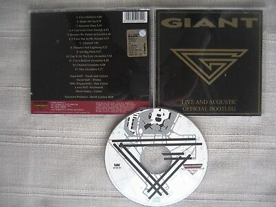 GIANT - Live and acoustic: Official bootleg 2003 1pr CD SURVIVOR Jimmy Lawrence