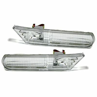 2 Repetiteur Porsche Boxster 986 1996-2004 911 996 1997-2005 Led Chrome Cristal