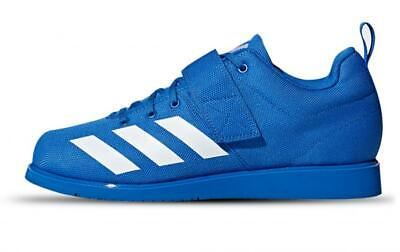 MENS ADIDAS POWERLIFT 4 Blue Weightlifting Athletic Sport Shoes BC0345 Size 8 12