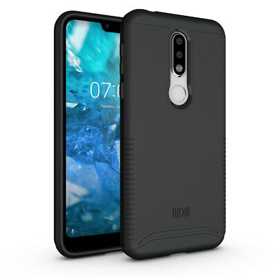 TUDIA Slim-Fit MERGE Dual Layer Protective Cover Case for Nokia 7.1 (2018)