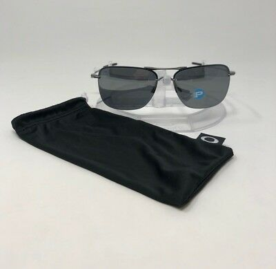 0f5de0907b161 AUTHENTIC Oakley Tailhook Sunglasses Lead Black Iridium Polarized OO4087-06