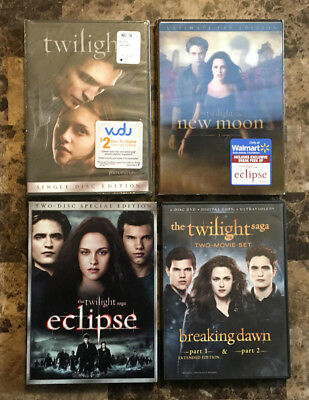all the twilight movies for free