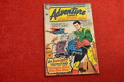 Adventure Comics #341 - 1966 - Nice Cover, Make an Offer! I Must Liquidate!