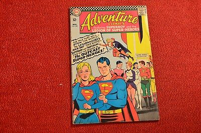 Adventure Comics #350 - 1966 - Nice Cover, Make an Offer! I Must Liquidate!