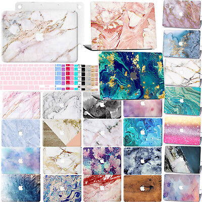 "New Marble Rubberized Hard Case Laptop Keyboard Cover For Macbook Air 13"" Retina"