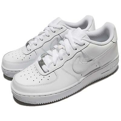 ab279838032 Nike Air Force 1 GS OG Triple White AF1 Kid Youth Women Shoes Sneaker  314192-