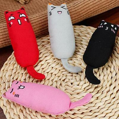 Creative Pillow Scratch Crazy Cat Kicker Catnip Toy Teeth Grinding Toys 5 Colors