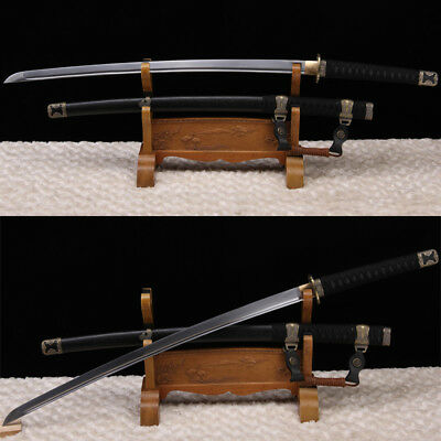 Hand Forged High Carbon Steel Blade Japanese Tachi Sword Full Tang Sharp Katana