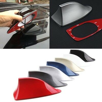 UK CARS SHARK Fin Roof Antenna Aerial FM/AM Radio Signal
