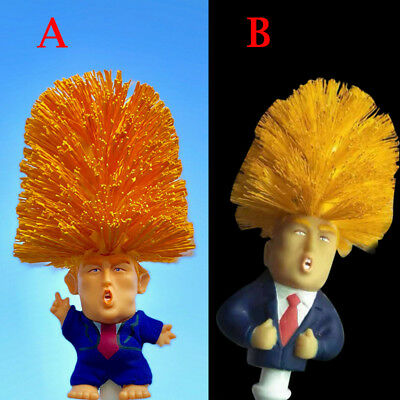 1 Pcs Donald Trump Toilet Bowl Brush Funny Gag Gift Toilet Great Again BYTN