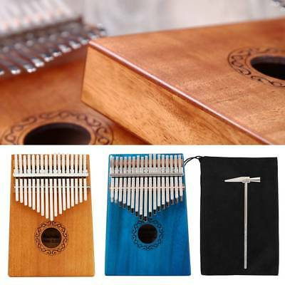 17-Key Wooden Kalimba Finger Thumb Piano Mbira Education Musical Instrument Toy