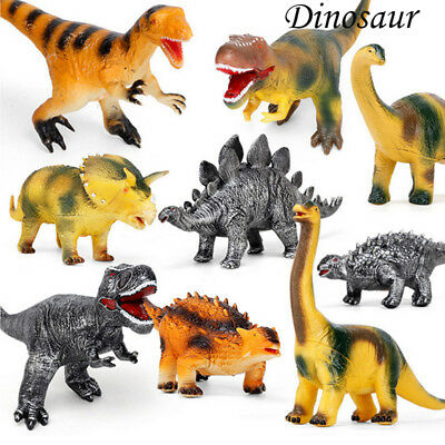 Large Soft Foam Rubber Stuffed Dinosaur Toy Animals Figures With Sound For Kids