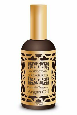 Huile d'Argan pure 100% Bio Naturelle Production Artisanale. 100ml