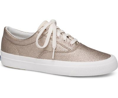 8279647b3076 Keds Women s Anchor Matte Brushed Metallic Lace-Up Sneaker Rose Gold Pick A  Size