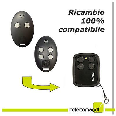 Télécommande radio compatible BFT mitto 2 boutons mitto 2m 433 mhz rolling