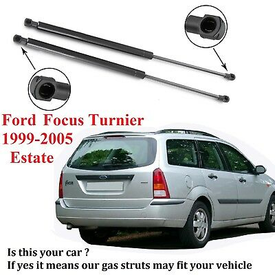 Pair Tailgate Boot Gas Struts for Ford Focus Turnier DNW 1999-2005 Estate 512mm