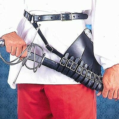 Right Handed Leather Rapier Carrier