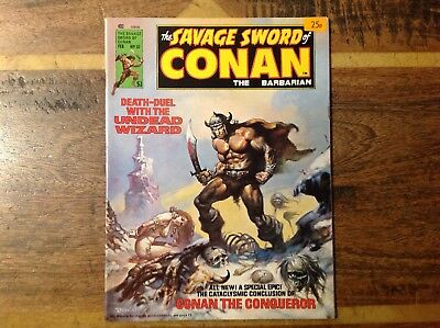 Savage Sword Of Conan 10 VFN