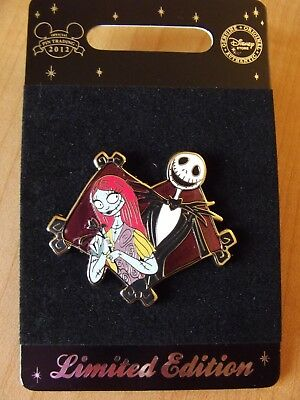 Jack and Sally The Nightmare Before Christmas Disney Pin LE 500 Pin 93306