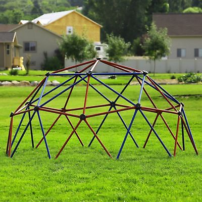 Climbing Dome Playset Kids Outdoor Play Set Playground Space Climber Equipment