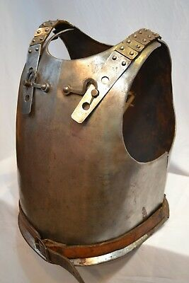 Rare Antique 17-18 Century  European Cuirass Body Plate Heavy Armor