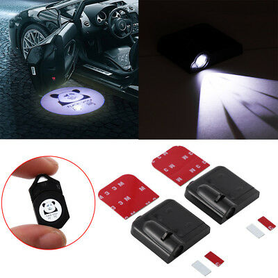 Funny New Auto Wireless Door Shadow LED Laser Car Welcome Light  Projector Logo