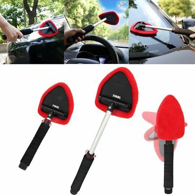 Tool Flexible Auto Long Handle Car Window Cleaner Windshield Microfiber Brush