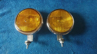 Vintage Bosch fog lights Mercedes Porsche 356 VW Beetle Split Bus