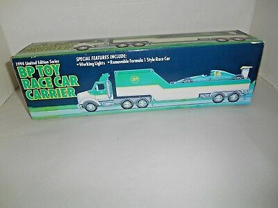 Vintage 1994 BP TOY RACE CAR CARRIER Limited Edition Series NIB