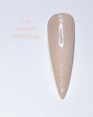 Cream Frosting Coloured Acrylic Powder 10G Bag   Spend £50 10G Free See Below