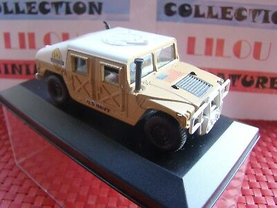 Hummer 1/43 Metal Solido Transformation Forces Speciales U.s Navy