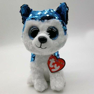 a0620979fbd TY BEANIE BOO ICY the blue Seal Sparkle The Special Soft Toy -  8.01 ...