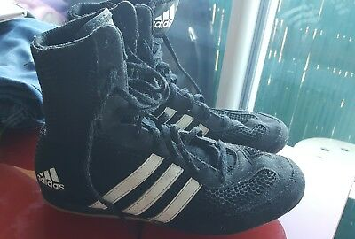check out 94587 04fe8 Adidas Chaussures de boxe anglaise